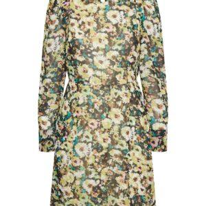 VMNILLA LS SHORT DRESS WVN GA